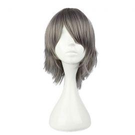 Reborn - Hayato Gokudera short grey wig
