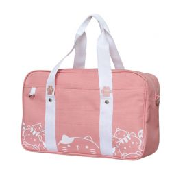 Cat pattern school bag