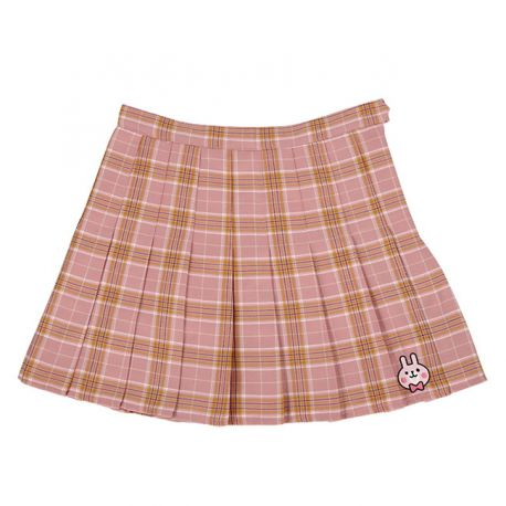 Cute checkered anime style skirt