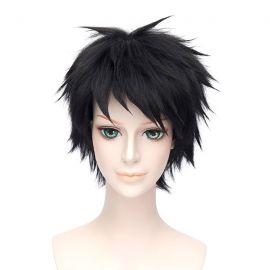 Free! - Sousuke Yamazaki short black wig