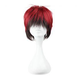 Kuroko no Basket - Taiga Kagami short black & red wig