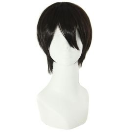 Kuroshitsuji - Black Butler - Sebastian Michaelis lyhyt musta peruukki