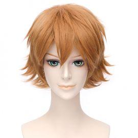 Tokyo Ghoul - Nishiki Nishio lyhyt vaaleanruskea peruukki
