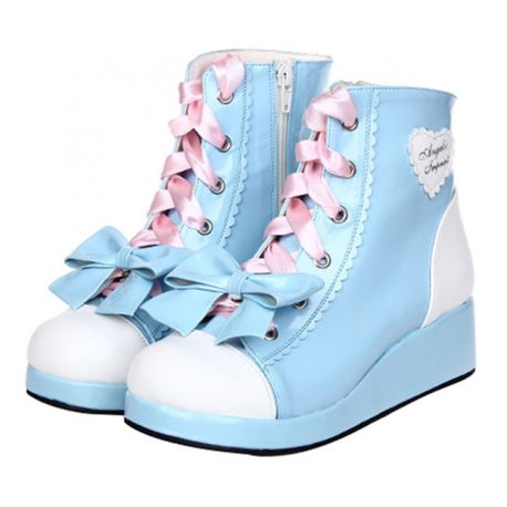 Cosplay Lolita shoes with bow