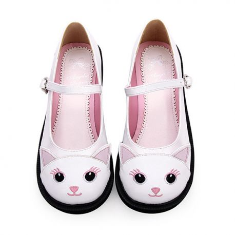 Cosplay cat pattern Lolita shoes