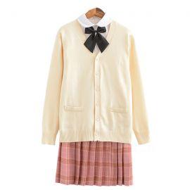 Japanska beige skoluniform