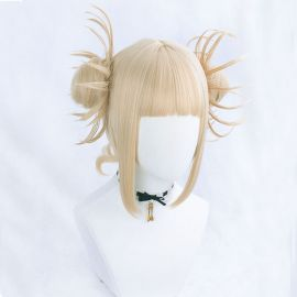 Boku no Hero Academia - My Hero Academia - Himiko Toga lyhyt vaalea peruukki