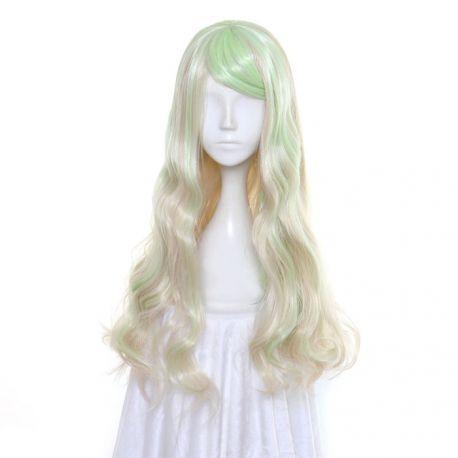 Little Witch Academia - Diana Cavendish pitkä vaalea kihara peruukki