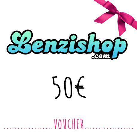 Lenzishop 50 EURO voucher