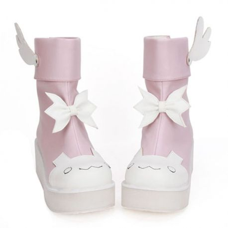 Cosplay Lolita shoes with wings