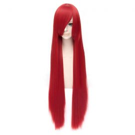 Cosplay long red wig
