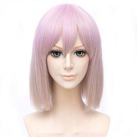 SSSS.GRIDMAN - Shinjo Akane keskipitkä vaaleanpunainen peruukki