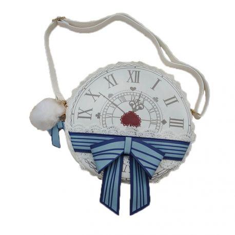 Round shaped Lolita clock bag