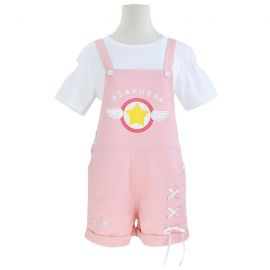 Cardcaptor Sakura - Sakura Kinomoto pink jumpsuit