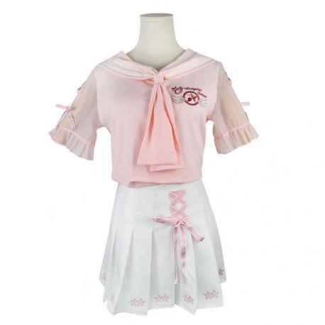 Pink Sakura jumpsuit