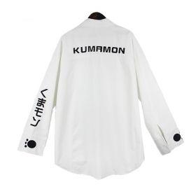 Kumamon collar shirt with tie