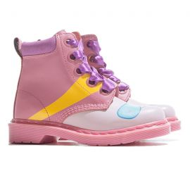 Pink colorful boots