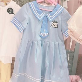 Light blue sailor fuku
