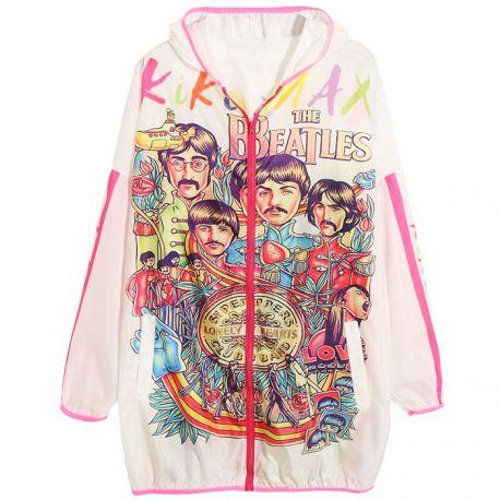 Unique colorful summer jacket