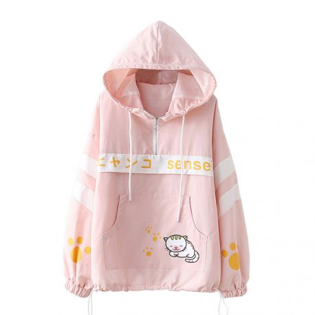 Cat pattern Sensei jacket