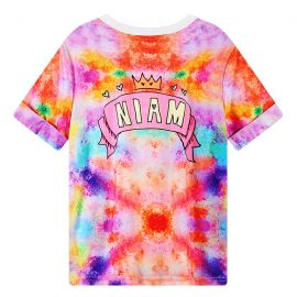 Pink colorful FU T-shirt