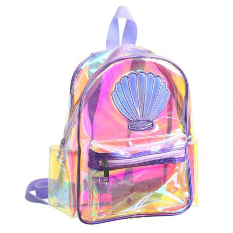 Small transparent backpack