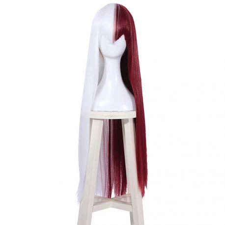 Boku no Hero Academia - My Hero Academia - Shoto Todoroki long white red wig