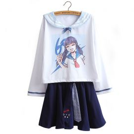 Anime style sailor fuku