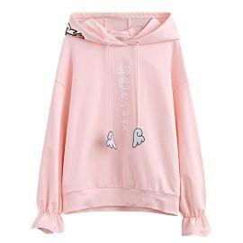 Pink japanese kawaii hoodie