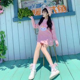 Pink rabbit style cardigan