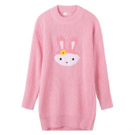 Pink rabbit style sweater