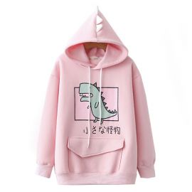 Japanese dinosaur hoodie