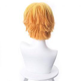 Kimetsu no Yaiba - Zenitsu Agatsuma short yellow wig