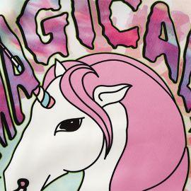 Colorful magical girl unicorn hoodie