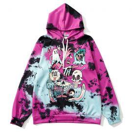 Purple skeleton hoodie