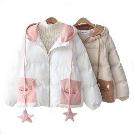 Cute kawaii jacket with star ornaments