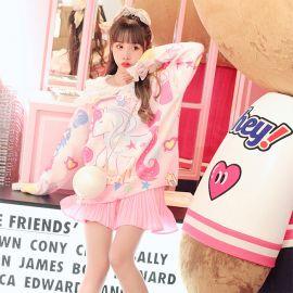 Cute colorful unicorn sweater