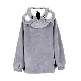 Cute koala plush jacket