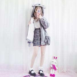 Cute koala plush jacket