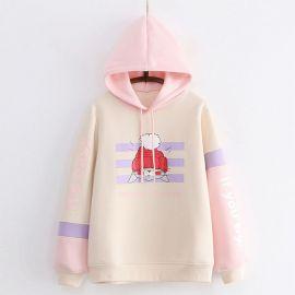Cartoon style hoodie
