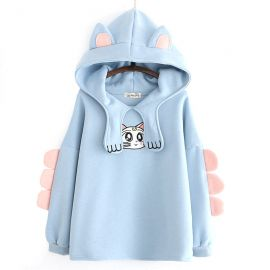 Artemis cat hoodie with ears