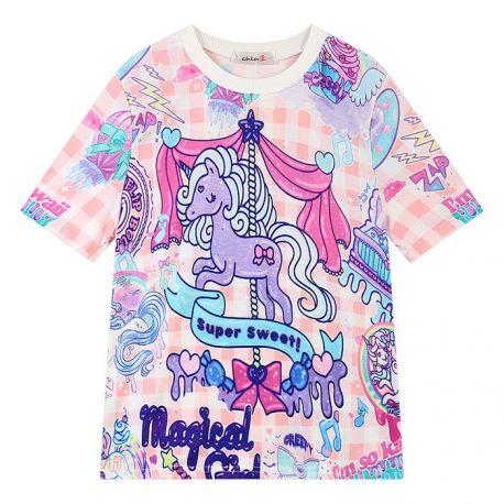 Colorful unicorn T-shirt