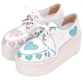 Cosplay Lolita creepers shoes