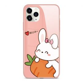 Carrot cat iPhone case