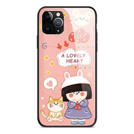 A lovely heart iPhone case