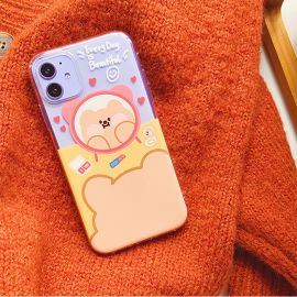 Brown teddy bear iPhone case
