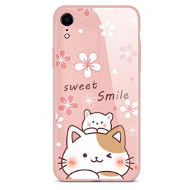 Sweet smile cat iPhone case