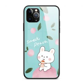 Sweet peach rabbit iPhone cover