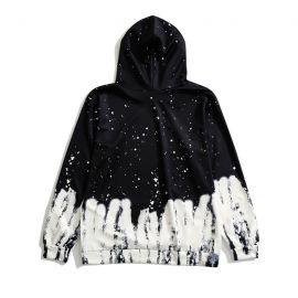 Black & white UFO hoodie