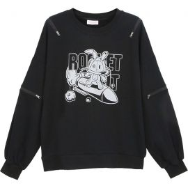 Rocket Rabbit blouse